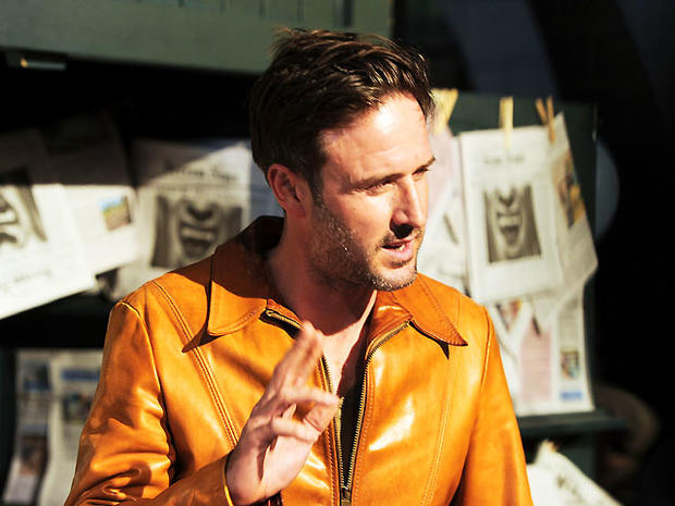 Actor David Arquette arrives at Spike TV's 'Scream 2010' at The Greek Theatre on October 16, 2010