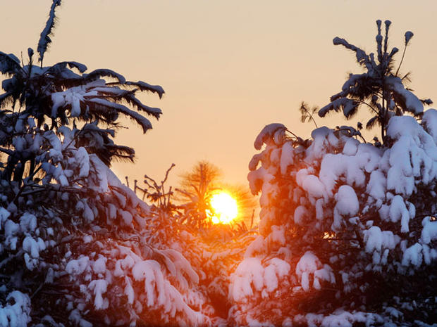 Snow Slams Northeast
