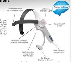 XWave brainwave-detecting headset