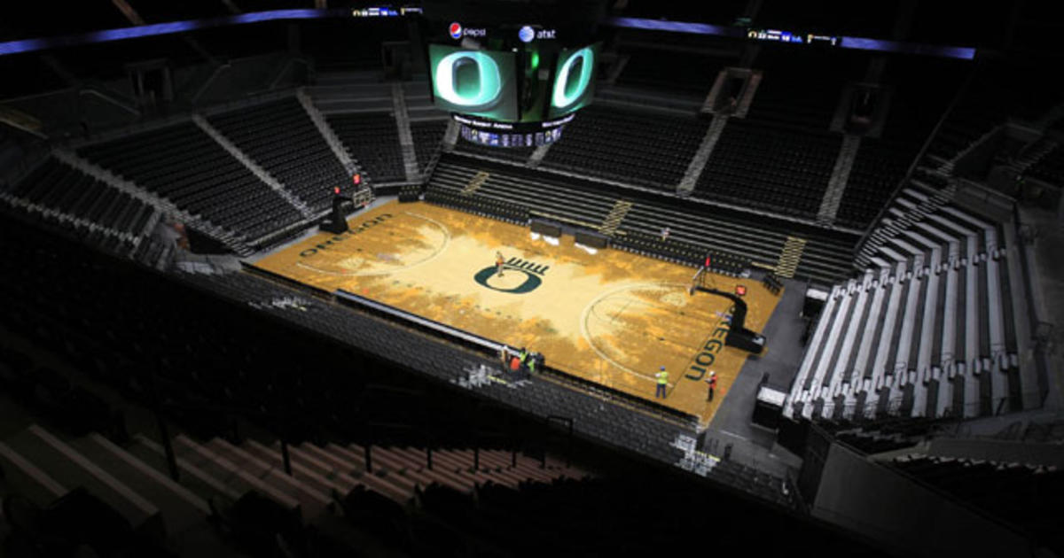 Oregon basketball court under much scrutiny mixed for Oregon floor