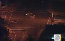 High Speed Car Crash Caught on Tape