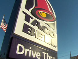 Police: Foursome tried to take Ohio Taco Bell art