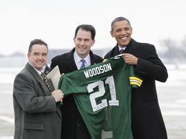 Barack Obama, Wisconsin, Packers
