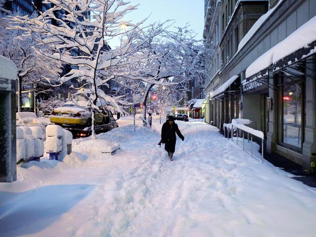 More Snow Blankets Northeast