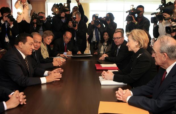 Mubarak and the U.S.