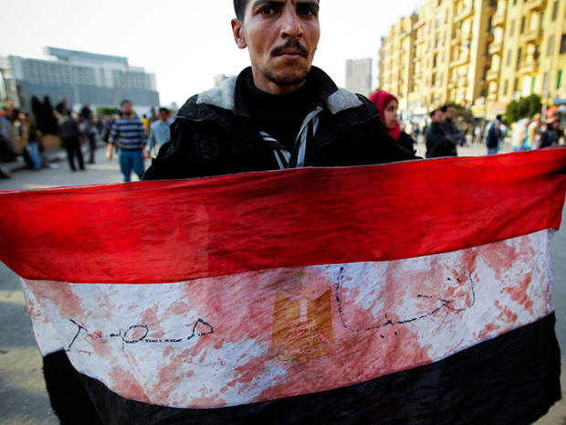 Protests Intensify  in Egypt