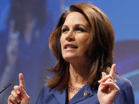 Michele Bachmann addresses the Conservative Political Action Conference
