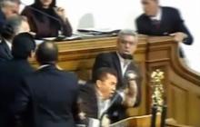 Fist Fight Between Venezuelan Legislators