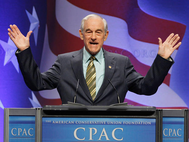 Ron Paul, speaks at the Conservative Political Action Conference