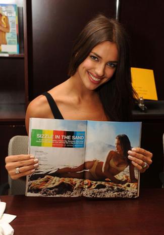 Hot Blog Post: Irina Shayk SI Cover Girl Photoshoot