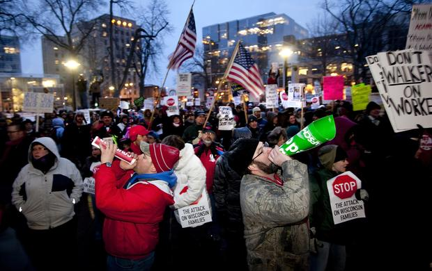 Wisconsin, protests