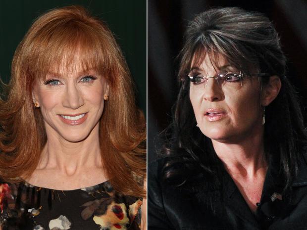 Sarah Palin and Kathy Griffin