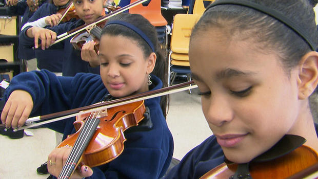 Gains In Reading For Hispanic Students >> Minority and poor students gain from charter schools, study shows - CBS News