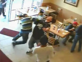 California taco shop experiences wild brawl, video makes it way to Youtube
