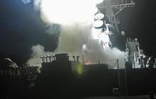 U.S. Navy Tomahawk launch