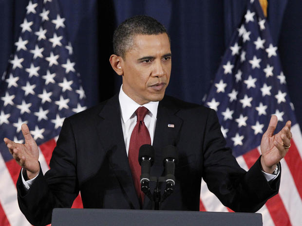 President Obama delivers address on Libya