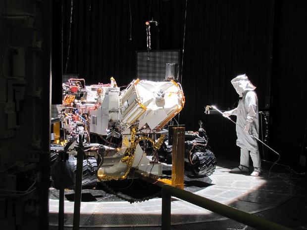Mars Simulation Chamber Space Simulation Chamber at