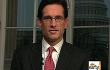 Cantor: Can't fix fiscal crisis with cuts alone