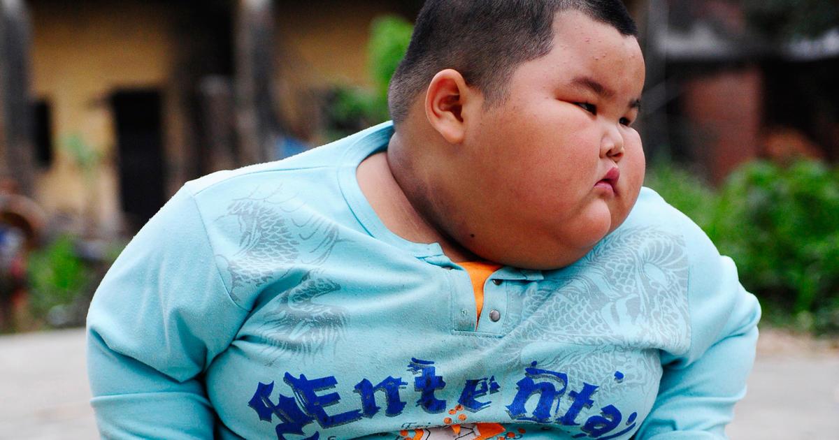 Worlds heaviest toddler? Lu Zhihao weighs 136 - CBS News
