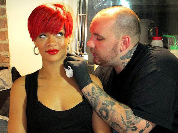 12 celebrity tattoo artists