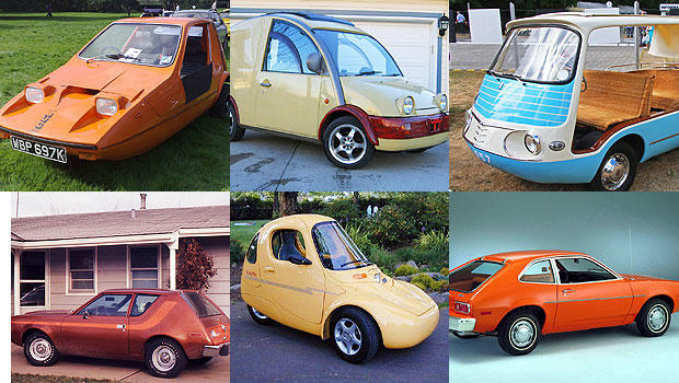 Collection of some of the world's ugliest cars - CBS News
