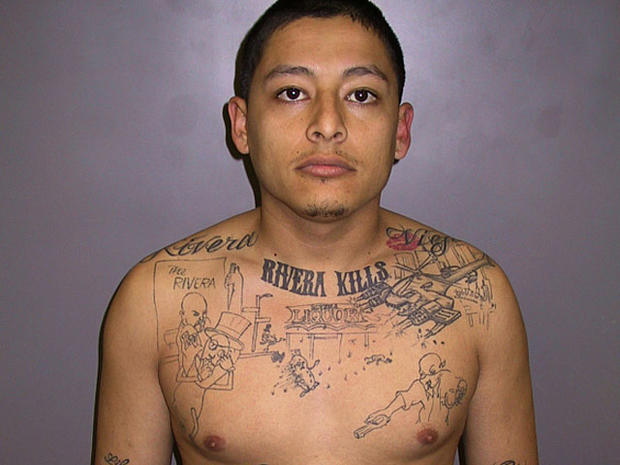 Calif. gangster's tattoo of crime scene helps solve murder
