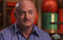 Mark and Scott Kelly on Giffords, shuttle launch