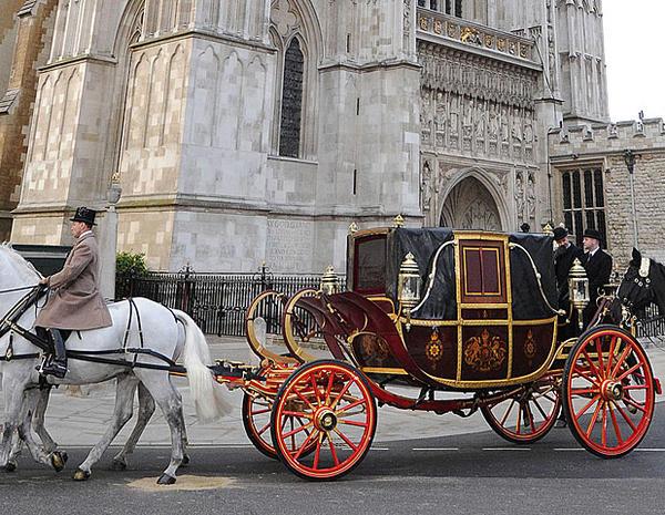 Royal wedding rehearsal