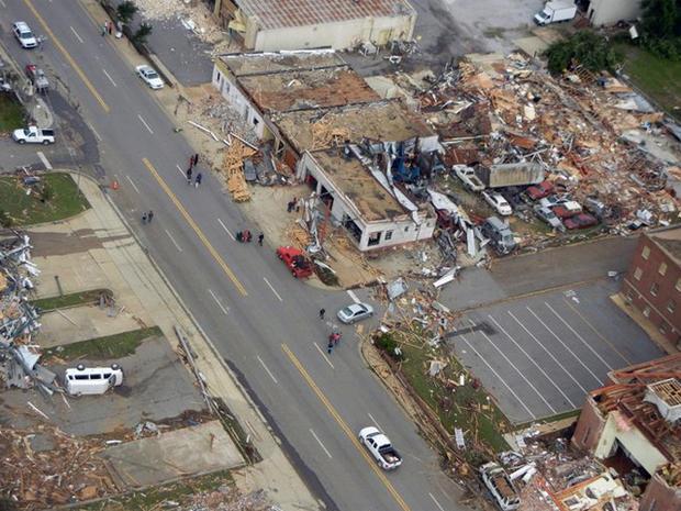 Aerial views of Tuscaloosa