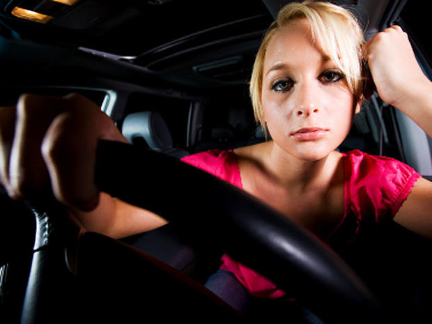 car, steering wheel, driving, woman, stock, 4x3