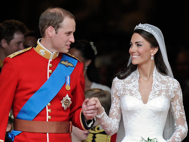 cbs wedding. William, Kate