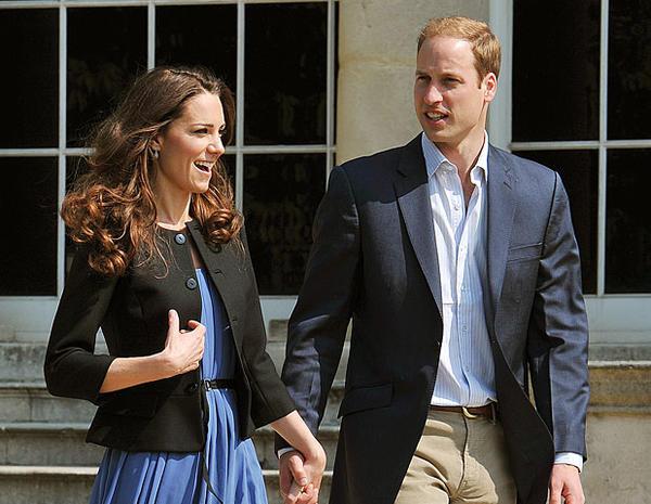 Leaving Buckingham Palace