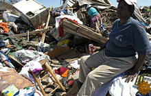 Surveying Alabama's tornado zone aftermath