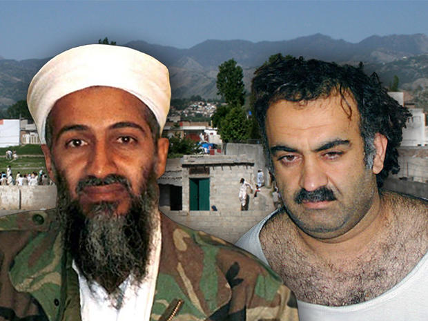 Osama Bin Laden and Sheikh Khalid Mohammed