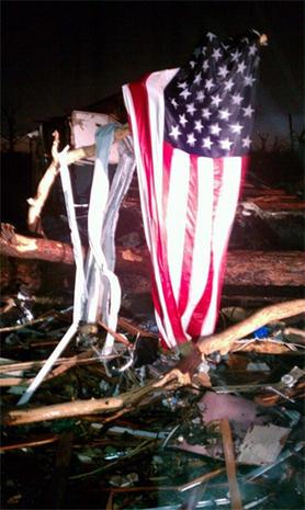Joplin twister decimation from the ground