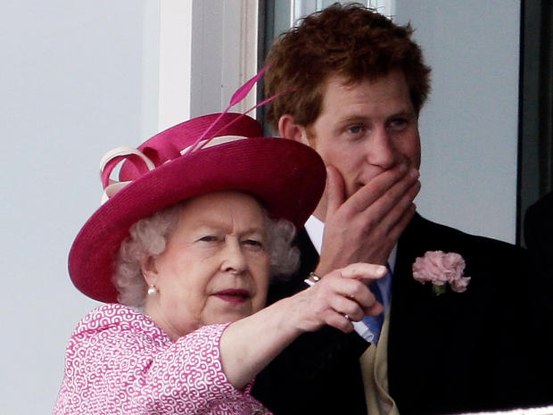 Royals at the races