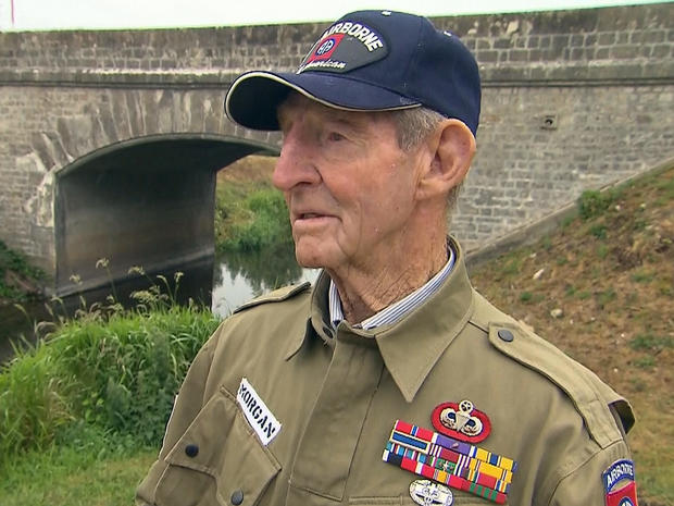 89-year-old D-Day hero returns to Normandy