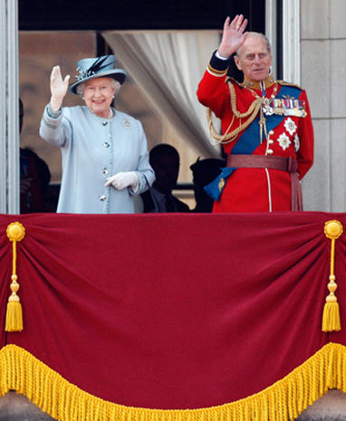 Newlyweds shine at Trooping The Colour