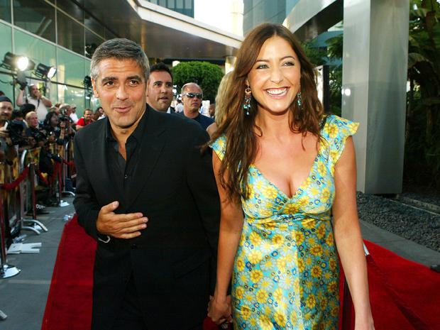 George Clooney's exes