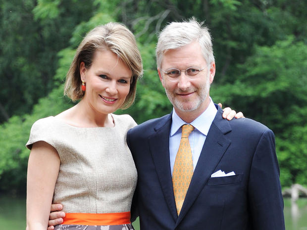 Belgian royals visit New York