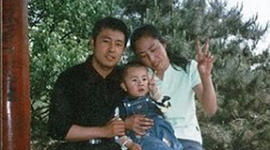 Xia Junfeng with his family