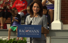 Bachmann officially announces