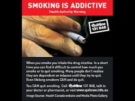 australian government tobacco label, philip morris, big tobbaco