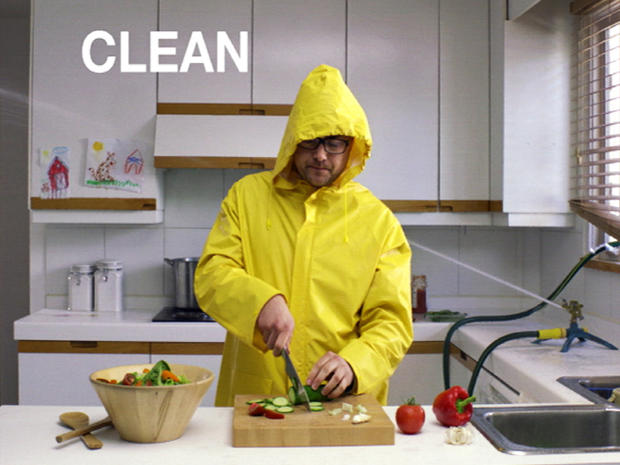 New food safety ads: Clever - or corny?