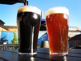dark beer, light beer, beer