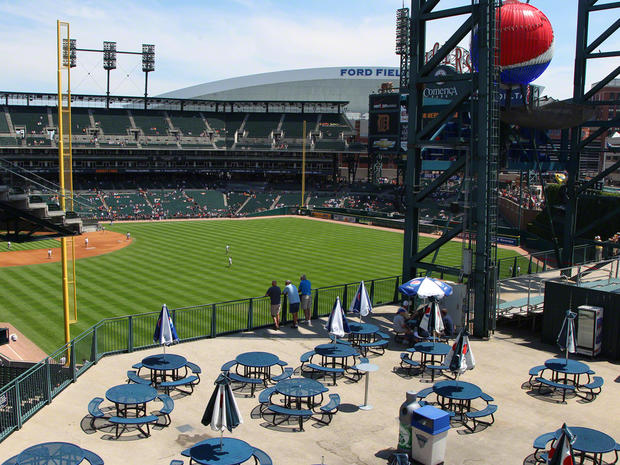Ballpark Roadtrip: Comerica Park