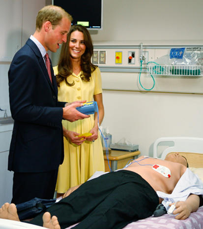 Prince William and Kate in Calgary