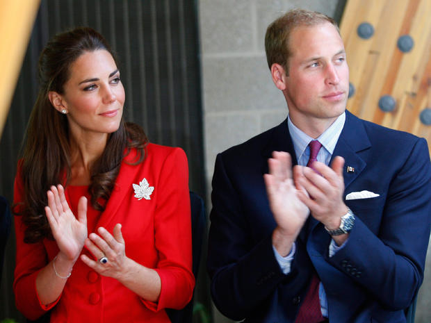 Prince William and Kate say goodbye to Canada