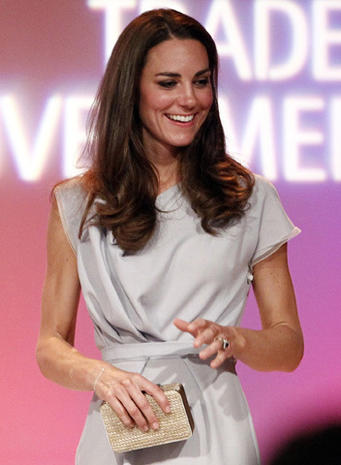 William and Kate arrive in California
