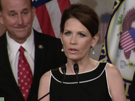 "Bachmann: I call on Obama to ""tell the truth"""